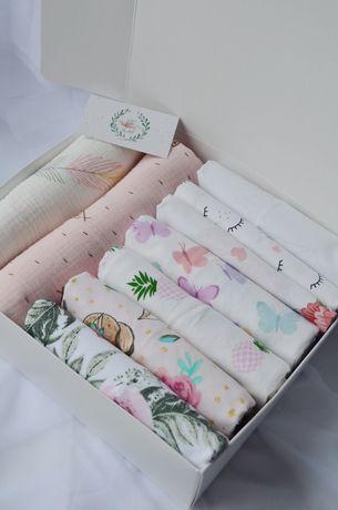 Baby box, набор пеленок в роддом, пеленки для новорожденного, муслин