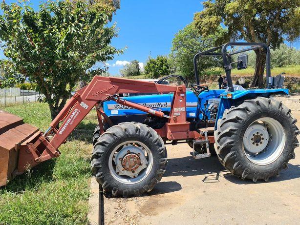 Trator Landini 6860 + Carregador