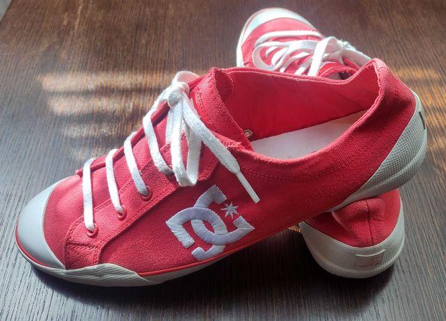 Tenisówki damskie, czerwone