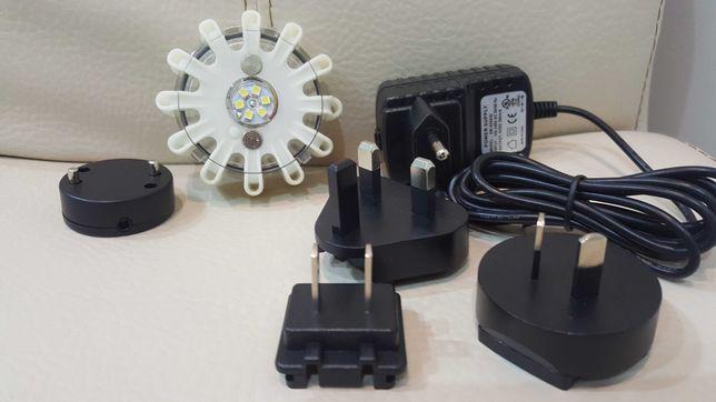 Lamka LED warsztatowa robocza 2 poziomy świecenia wodoodporna