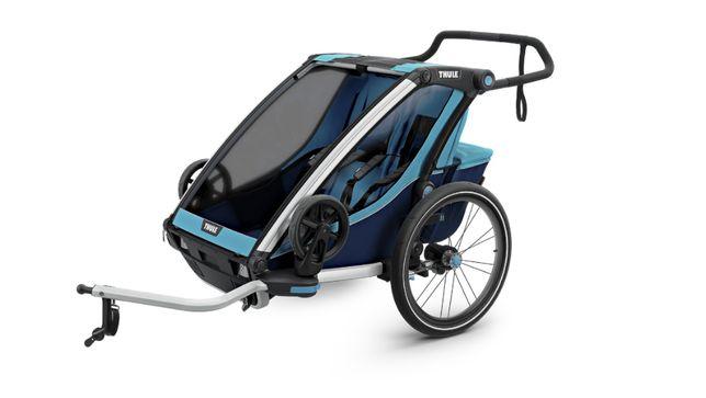 WODA GÓRY LAS wypożyczalnia przyczepka rowerowa wózek THULE cross1