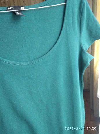 """Платье H&M"""" средней длины 38 размер. + Майка в подарок."""