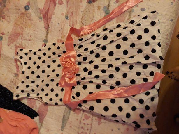 Zestaw sukienek dla dziewczynki 128