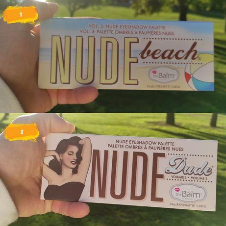 Тени the Balm Nude Beach   И theBalm Nude Dude Оригинал с Швеции 100%