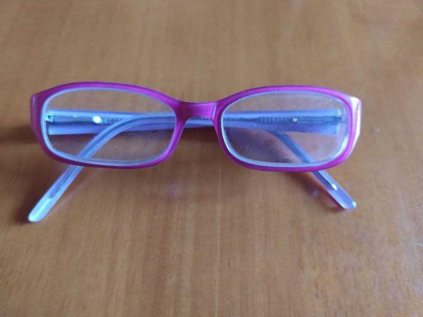 Оправа розовая для девочки (Италия), очки