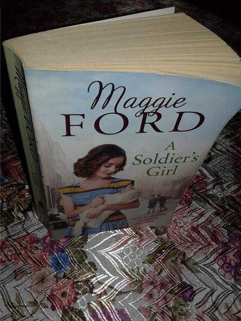 Книга на англійській мові A Soldier's Girl Maggie Ford, english