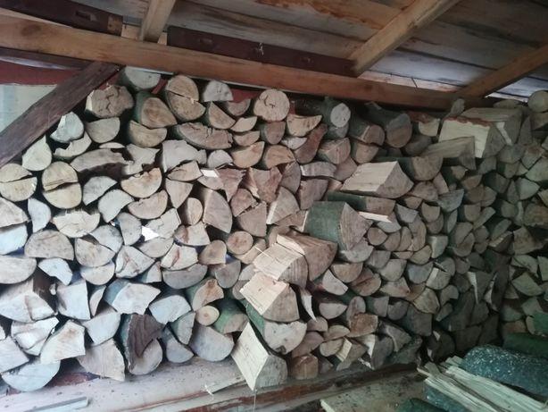 Drewno Opałowe Kominkowe (Buk Grab Jesion Dąb Sosna) Możliwy Transport
