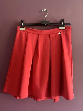 Czerwona spódnica Answear r. 38