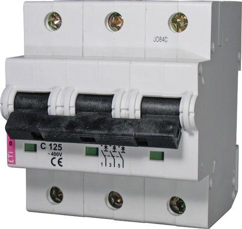 Автоматический выключатель ETIMAT 10 3p C 100А. 125А Чехия