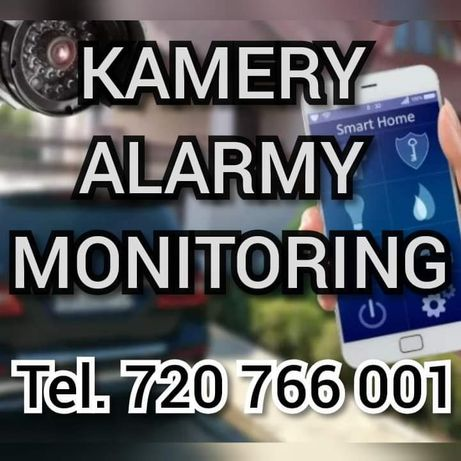 Montaż kamer Zakładanie monitoringu Serwis Kamer CCTV Alarmy