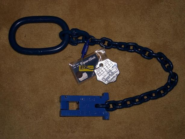 SPANSET – Anel de elevação+elos de ligação+cadeado+terminal ligação