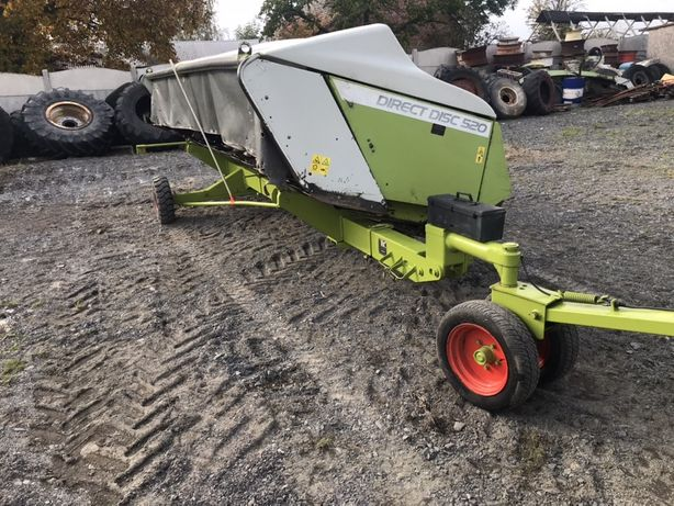 Claas direct disc 520 gps