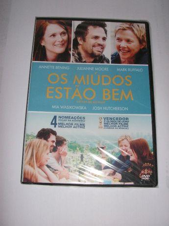 DVD Os Miúdos Estão Bem (NOVO)