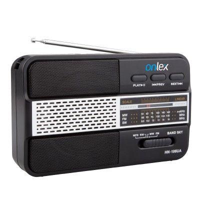 radio portátil c/bateria de grande capacidade