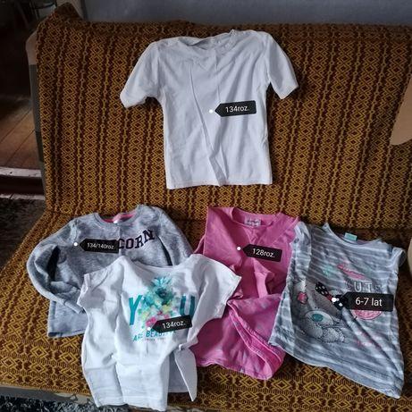 Ubrania dla dziewczynki od 122roz