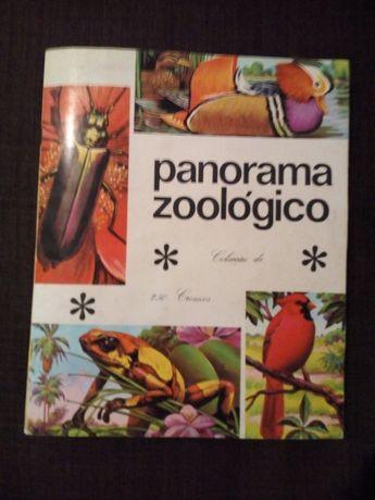 "Caderneta "" Panorama Zoológico""- Completa"