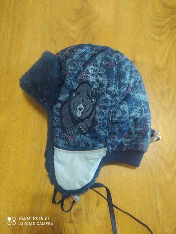 Фирменная зимняя шапка, шапочка, ушанка Tu-Tu