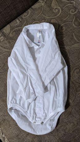 Боді рубашка