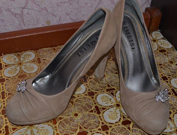 Зручні замшеві туфлі