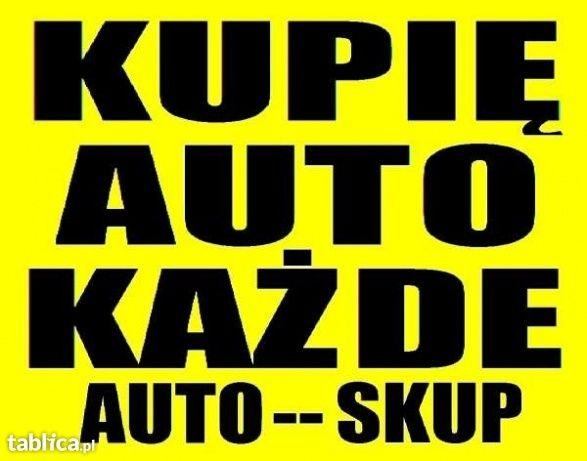 Skup Aut/samochodów Wszystkie Uszkodzone,Bez OC Każdy stan Wysokie cen