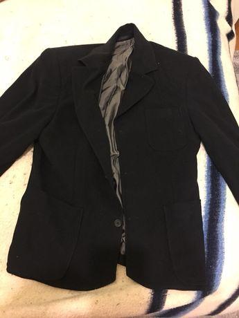 Blazer preto algodão tamanho M