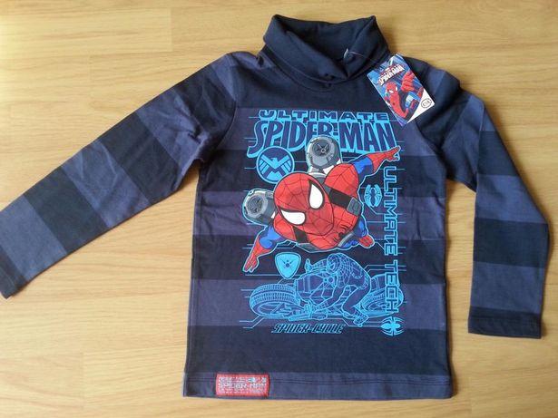 Nowy golf / bluzka Spiderman roz.116 C&A