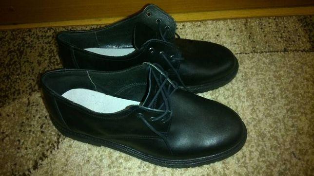 NOWE! Półbuty ochronne buty skórzane rozmiar 43.