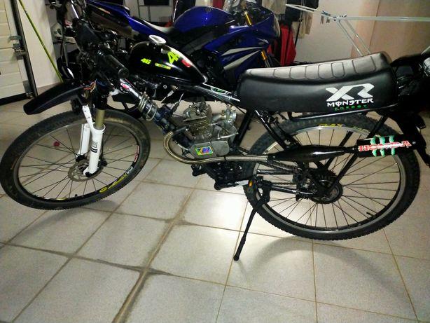 Troco 2 motores 80cc por 1 motor 100cc de bicicleta bina, motorizada!