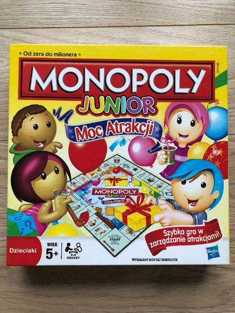 Monopoly Junior Moc Atrakcji