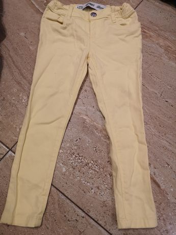 Spodnie żółte 104