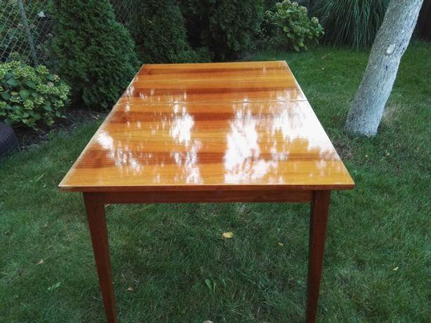 Stół rozkładany wysoki połysk PRL