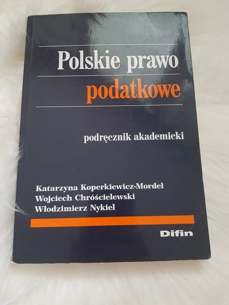 Polskie prawo podatkowe podręcznik akademicki Diffin