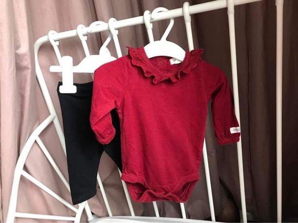 Komplet Newbie body i spodnie leginsy H&M