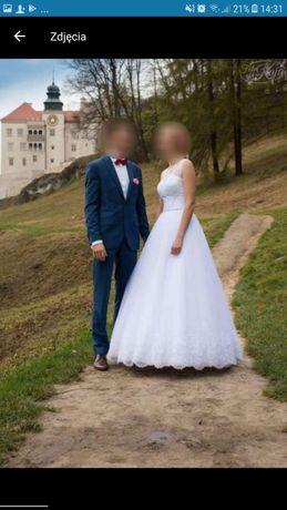 OKAZJA Piękna suknia ślubna :)