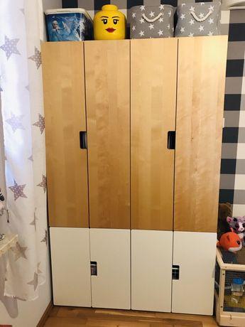 Ikea stuva szafy jak nowe drewno