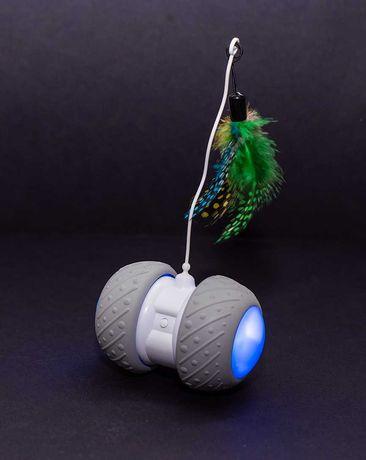 Interaktywna Uciekająca Zabawka Dla Kota Premium