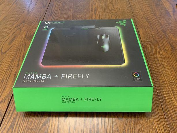 Mysz gamingowa Razer Mamba + Firefly