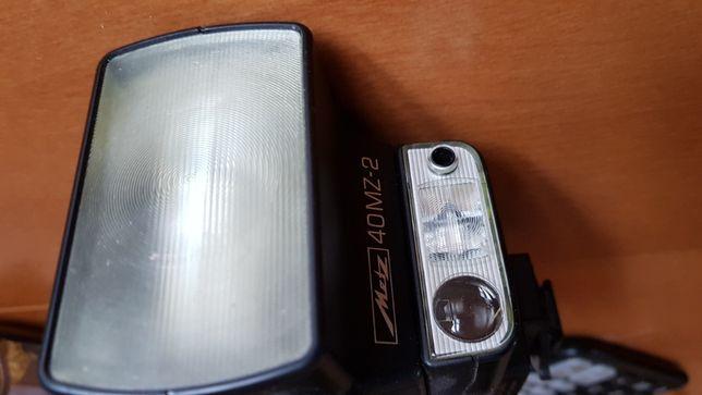 Lampa błyskowa Metz mecablitz 40 MZ-2, adapter SCA 3401