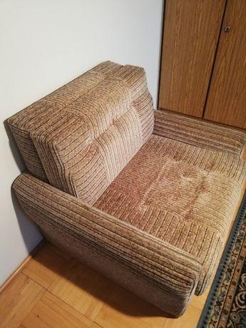 fotel rozkładany z funkcją spania i pojemnikiem na pościel 2 szt.