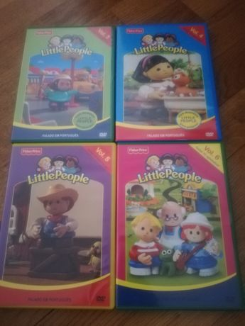 Dvds Little family 3, 4, 5 e 6