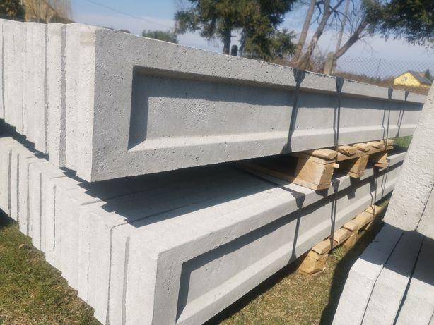 Podmurówka płyta betonowa, łączniki, siatka, panele.