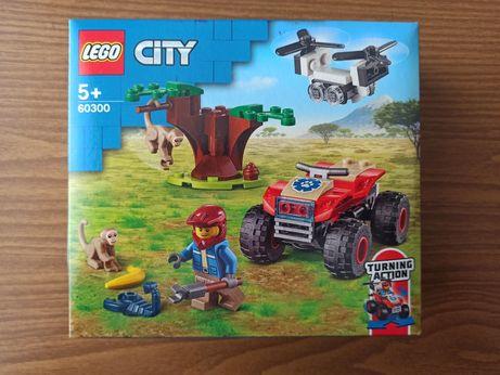 Новинка! LEGO City Спасательный вездеход для зверей 74 дет (60300)