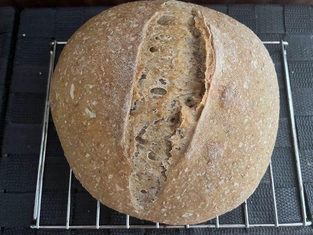 Pão de Massa Mãe e Longa Fermentação