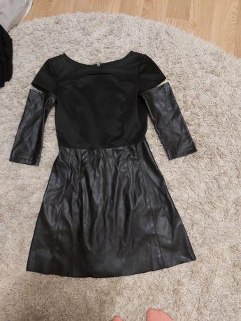 Чёрные  нежное платье
