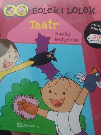 """Książka  dla dzieci """"Bolek i Lolek"""" TEATR"""