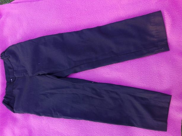 Spodnie czarne HM eleganckie 116