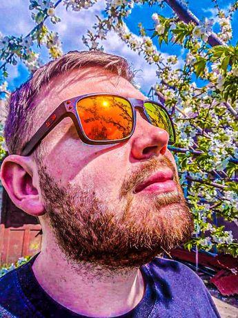 Мужские Солнцезащитные Очки с Поляризацией Oakley Holbrook