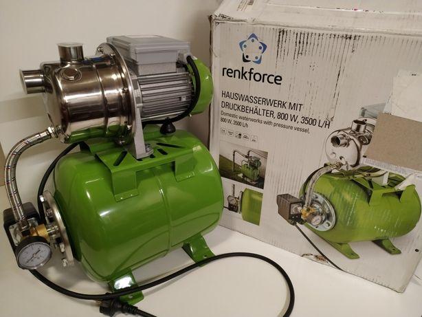 Pompa do wody 1100 W ze zbiornikiem chydrofor