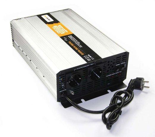 Inversor Conversor UPS Carregador Onda Pura 2000W/4000W Reais