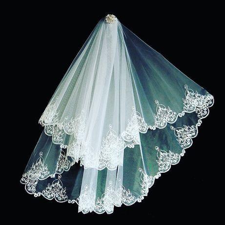 Фата свадебная , весільна фата